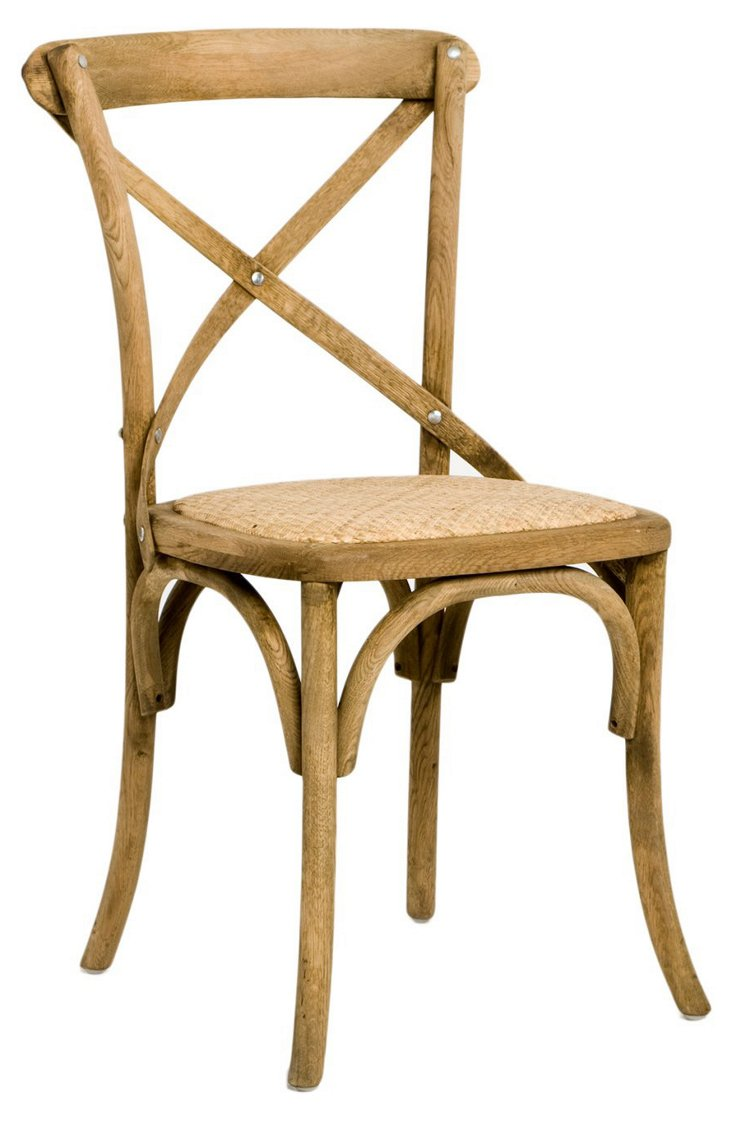 Seneca Café Chair, Natural
