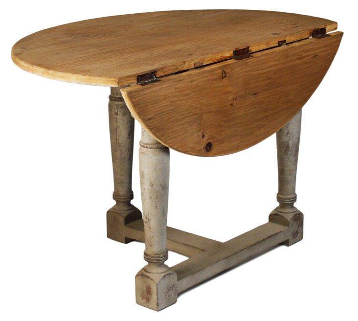 "Miranda 44"" Drop-Leaf Dining Table"