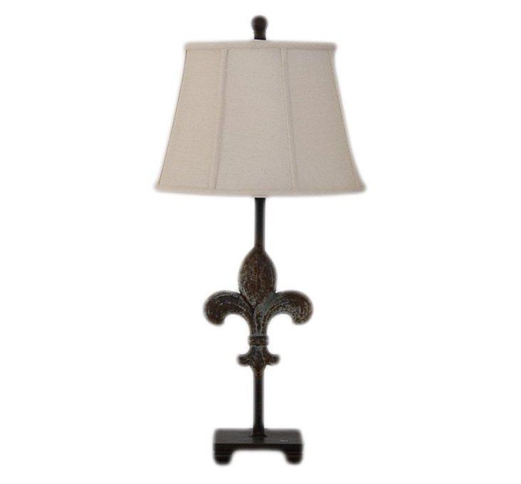 Rustique Metal Lamp II