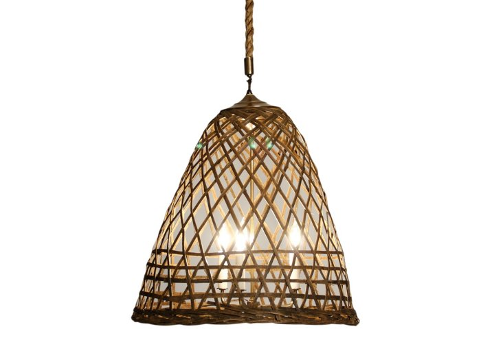Chicken Cage Hanging Light