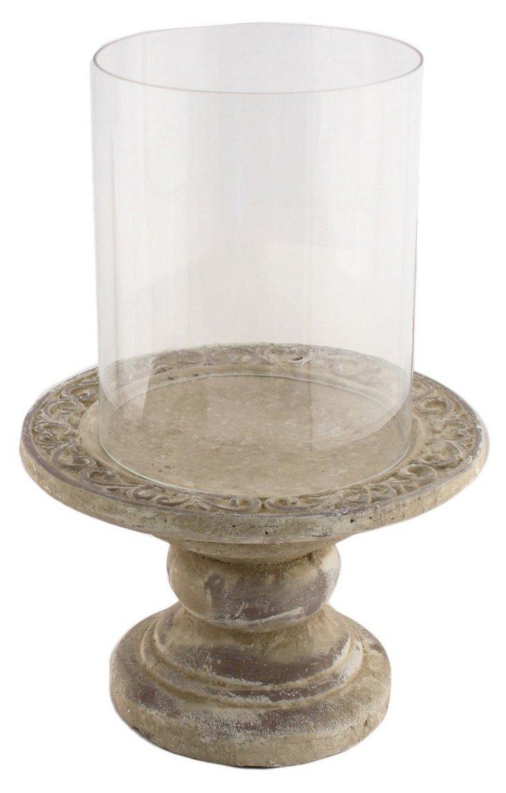 "12"" Pedestal Candleholder"