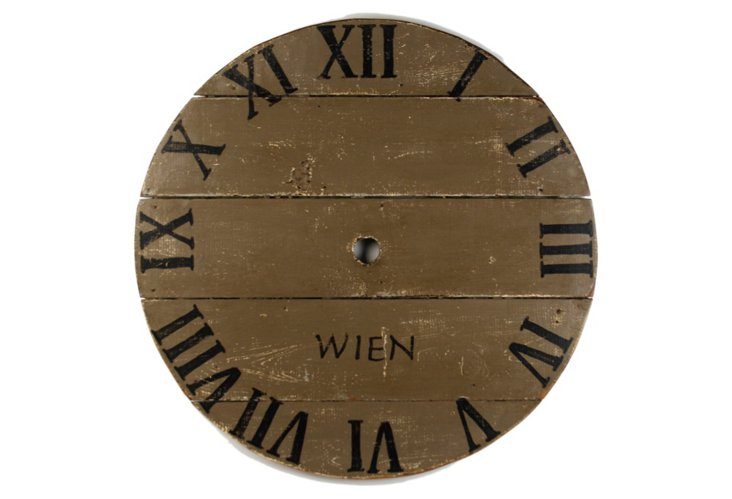 Wien Clock Face