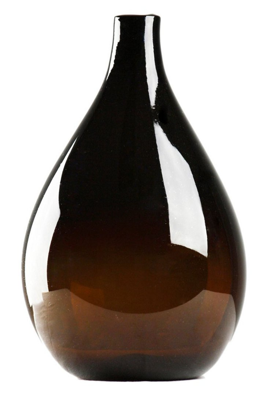 Amber Vase, Med.