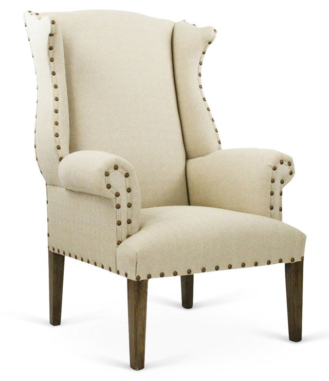Marie Wingback Chair