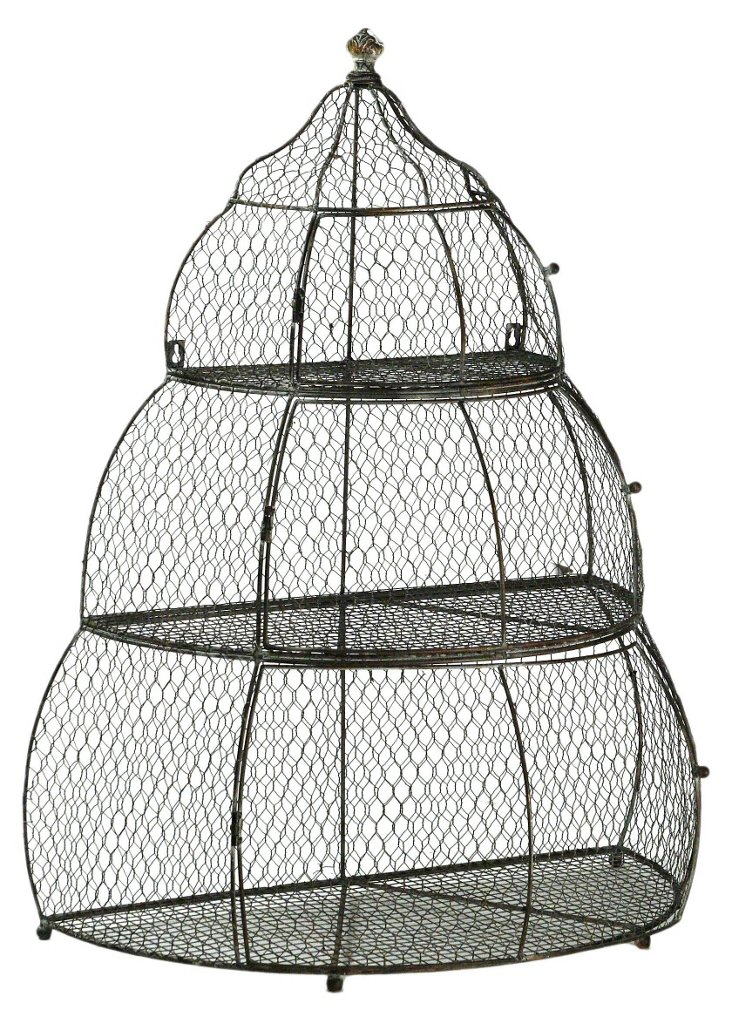 Tiered Iron Birdcage