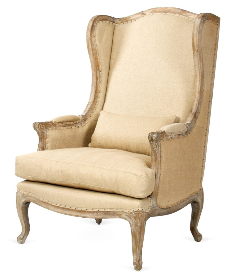 Leon Wingback Club Chair