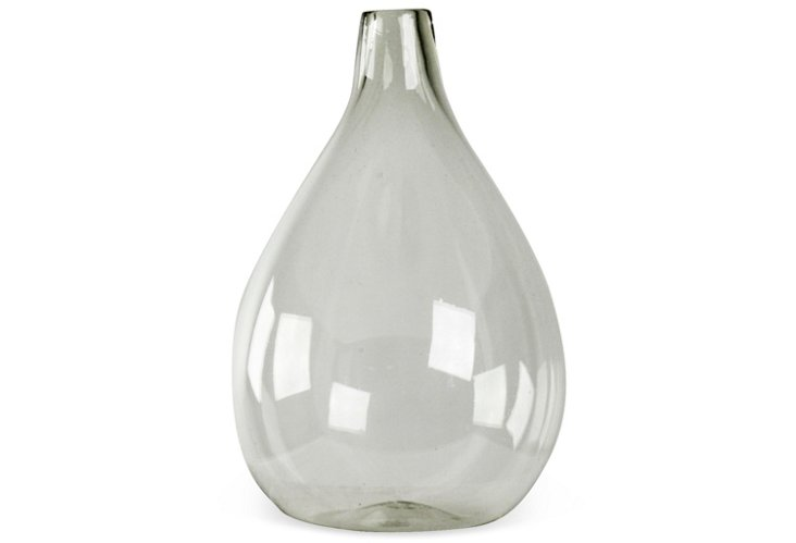 """19"""" Clear Glass Vase"""