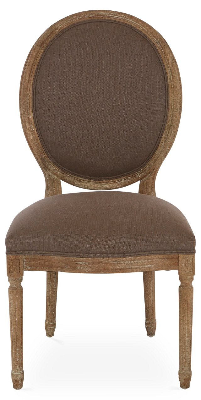 Octavia Side Chair, Chocolate
