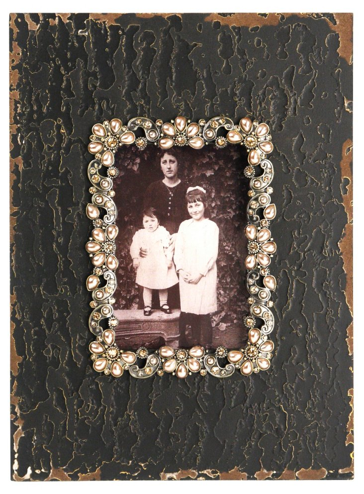 Wooden Frame w/ Jewels