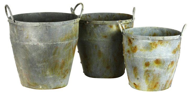 S/3 Weathered Bins