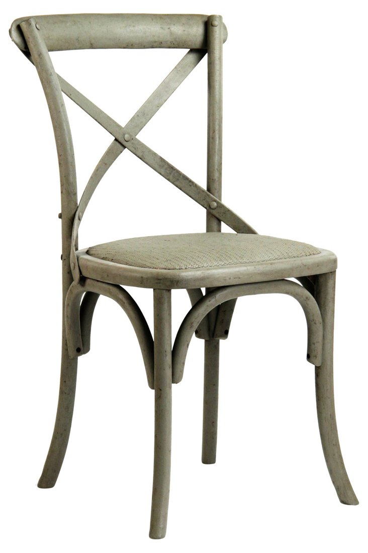 Parisienne Cafe Chair, Olive