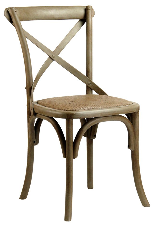 Parisienne Cafe Chair, Putty