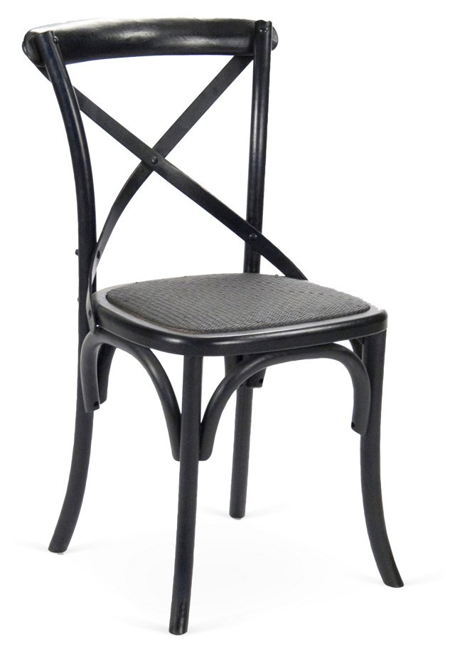 Parisienne Cafe Chair, Ebony