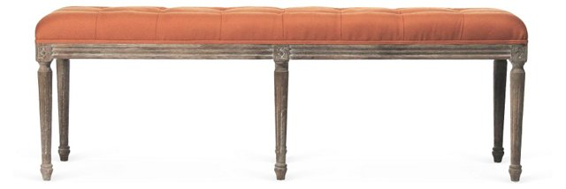Amerie Tufted Bench