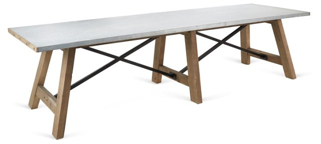 """Oliver 119"""" Dining Table"""