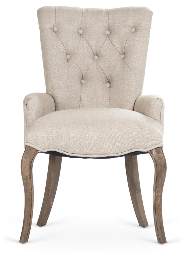 Claire Tufted Chair