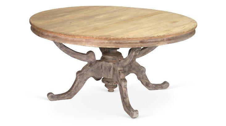"Ella 62"" Round Dining Table"