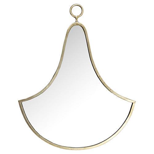 Yippie Wall Mirror, Silver