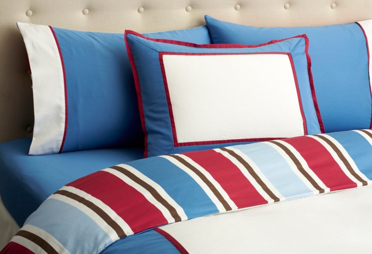 Chambray Bedding Set