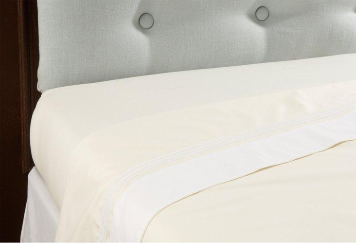 Veronese Flat Sheet, Ivory