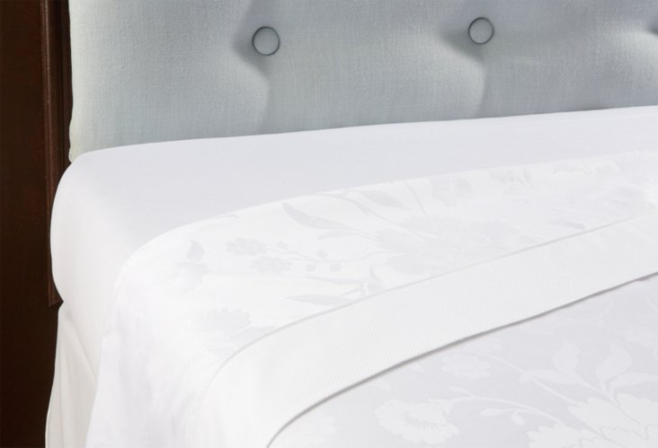 Canova Flat Sheet, White