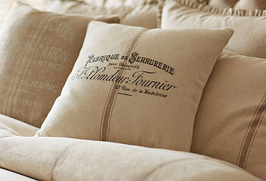 Bedding & Pillows by French Laundry