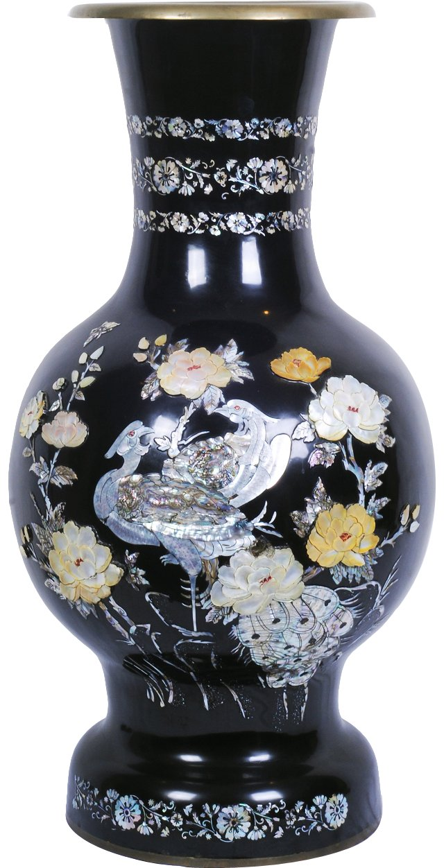 Mother-of-Pearl Vase, C. 1950