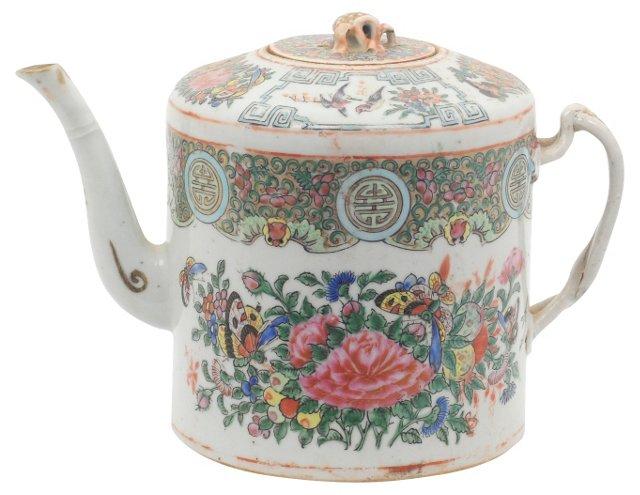 Famille Rose Teapot