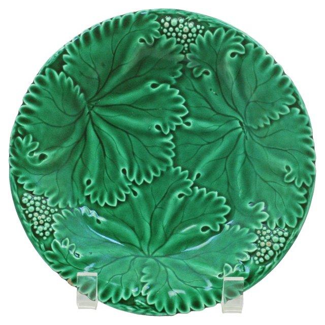 Antique Green Majolica