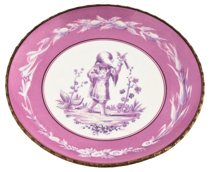Antique German Dish