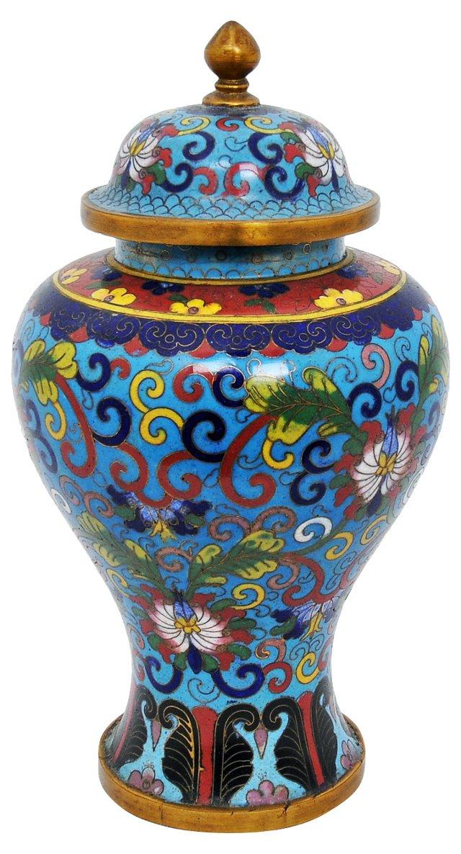 Antique Chinese Cloisonné Urn, 19th c.