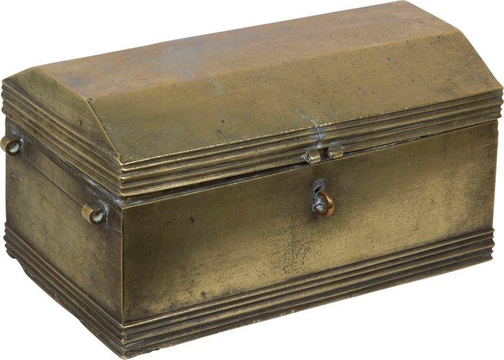 Asian Bronze Strong Box