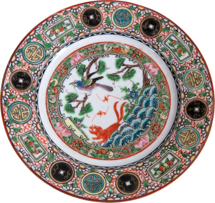 Famille Rose Plate, Guardian