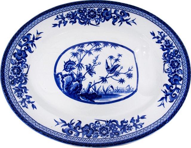 Large Ironstone Platter, c. 1860