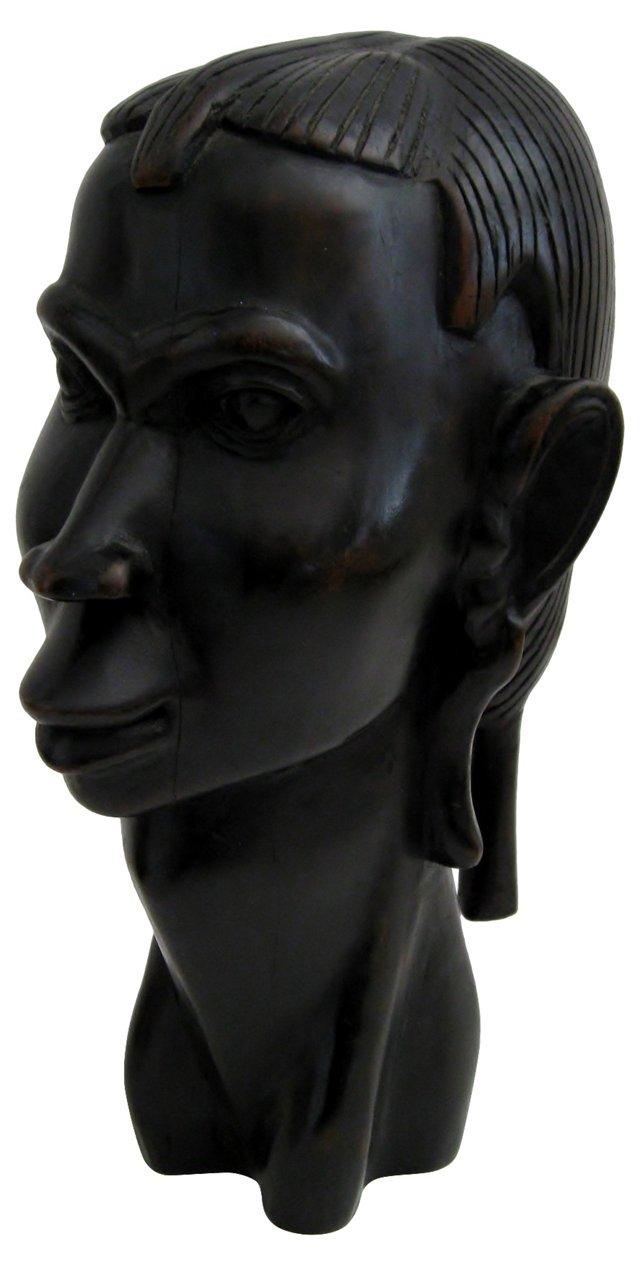 Ebony Wood Statuette
