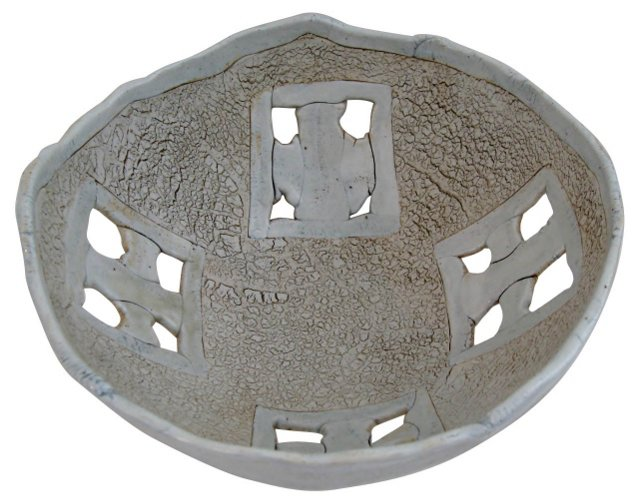 Studio Pottery Asian-Style Bowl