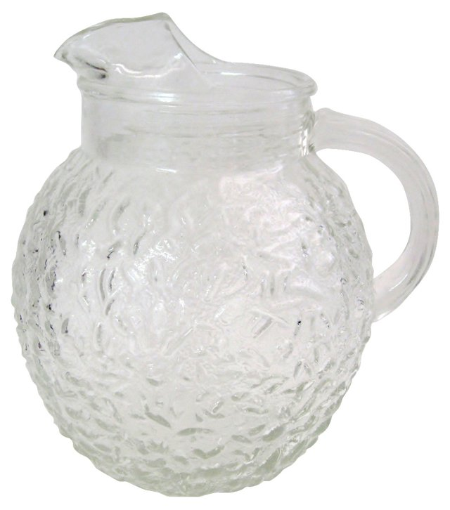 American Glass Pitcher