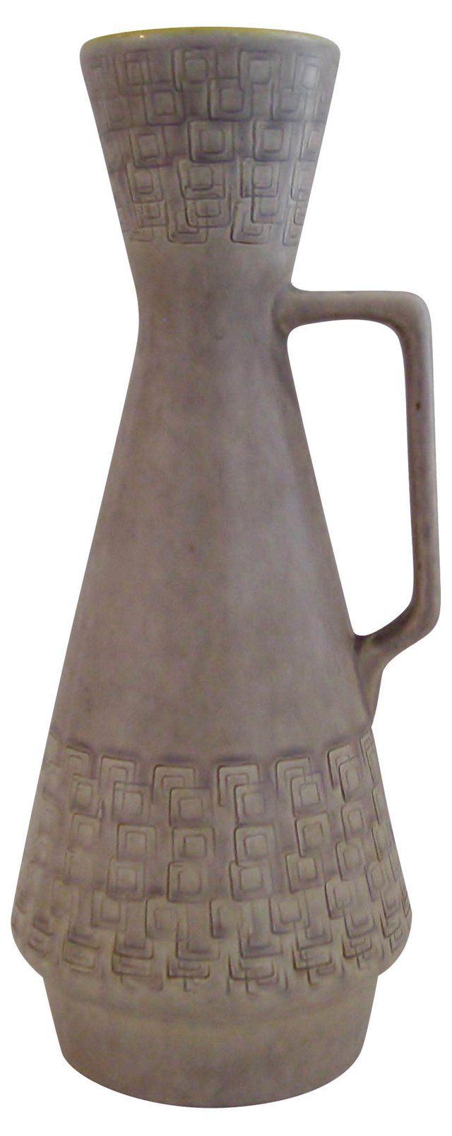Pale Taupe Ceramic Pitcher