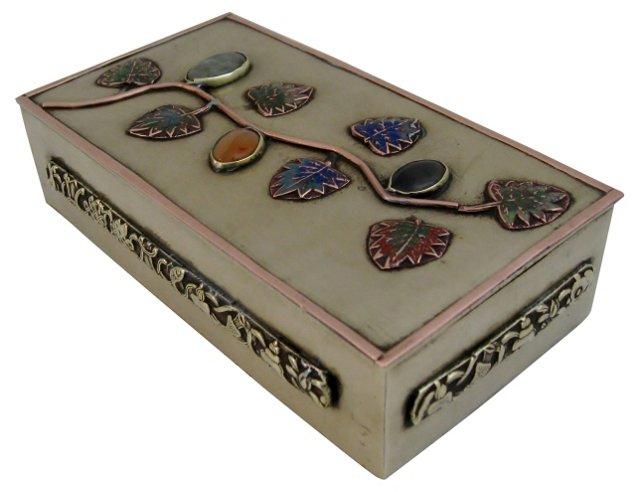 Decorative Brass & Copper Box