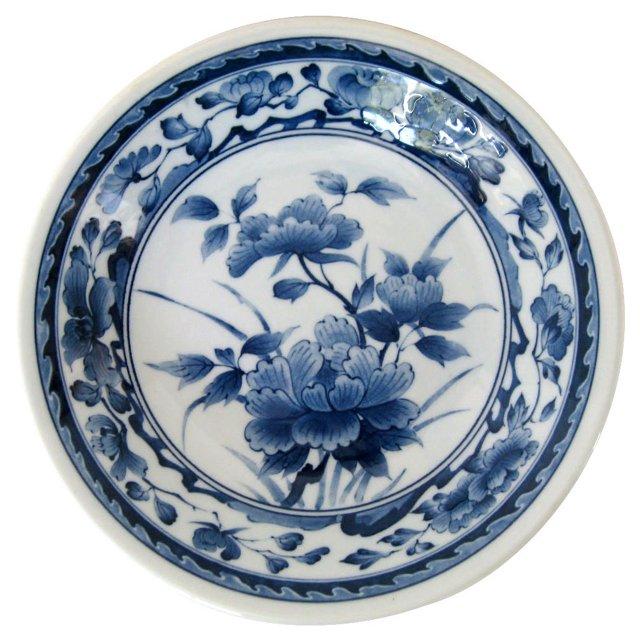 Lotus Blossoms Porcelain Bowl