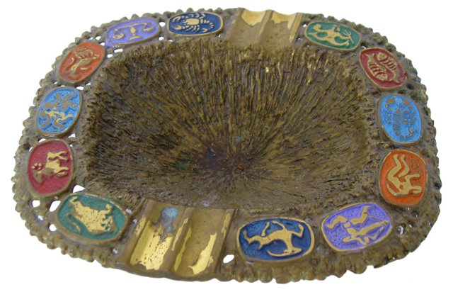 Astrological Signs Ashtray