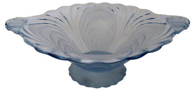Cambridge Glass Blue Caprice Bowl
