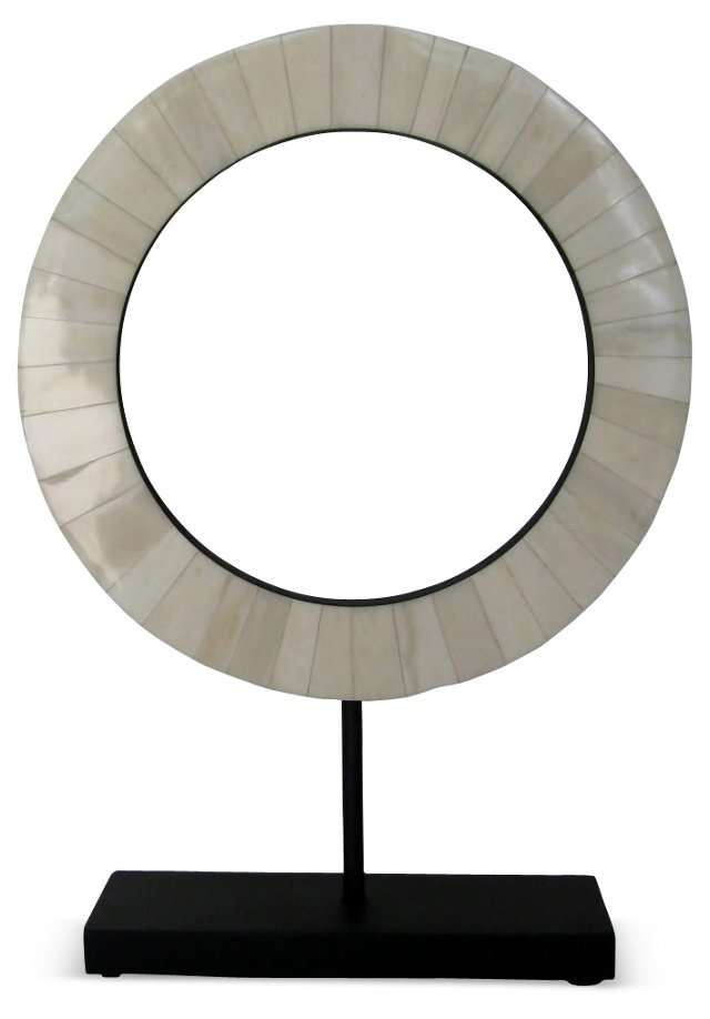 Mounted Circle w/ Mother-of-Pearl