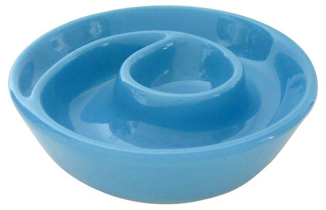Sky Blue Portuguese Bowl