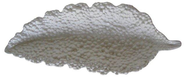 Porcelain Leaf-Shaped Console Bowl