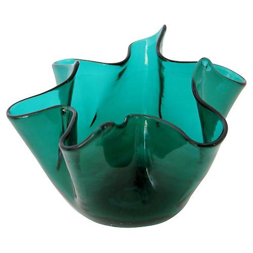Venini Fazzoletto Accent Vase