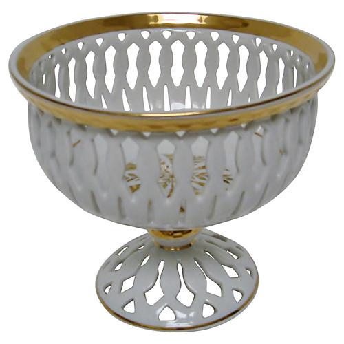 Decorative Porcelain Coupe