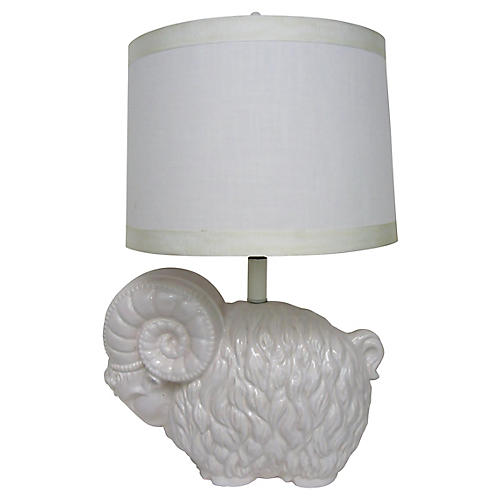 Royal Haeger Ram Table Lamp