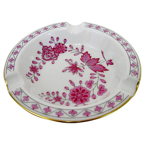 Hutschenreuther Floral Ashtray