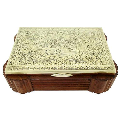Italian Art Deco Cigarette Box